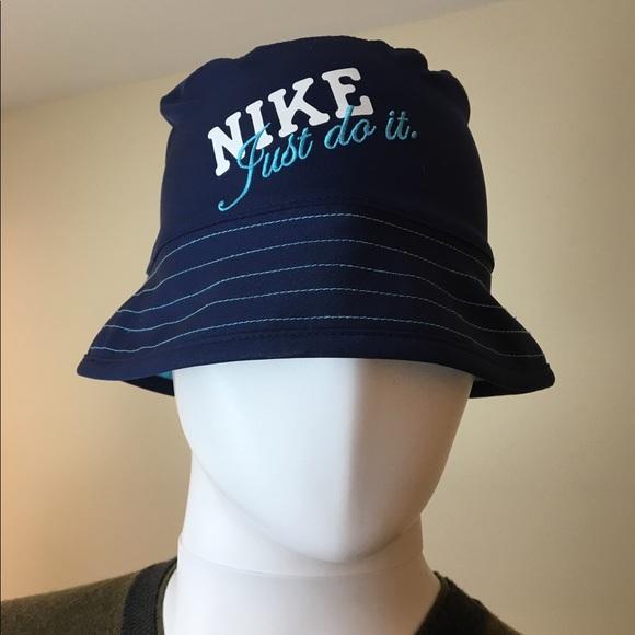 Nike youth unisex reversible blue bucket hat cb291097dd5